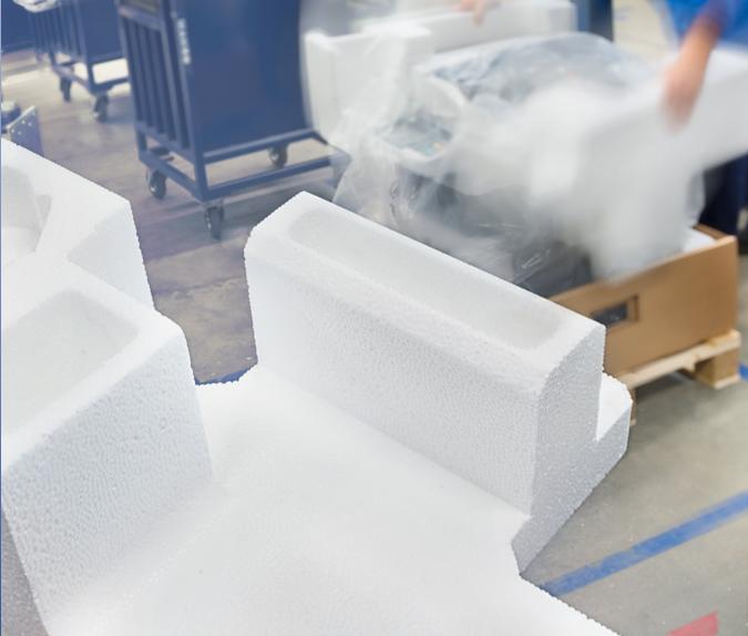 EPS Packaging onderdeel